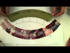 Quick method to make a doublewedding ring quilt quilting
