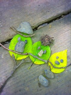 Leaf Art Activity