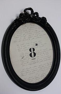 Mademoiselle Patine - Meubles et Objets anciens revisités, créations: Miroirs & Cadres
