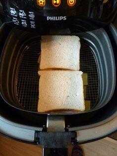 Na mijn geslaagde tosti's in de grillpan, was ik in de veronderstelling dat vanaf nu altijd tosti's in de grillpan zouden bakken. Niet meer ...
