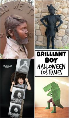 10 Brilliant Boy Halloween Costume Ideas