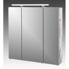 £198 Schildmeyer Arubas 70cm x 75cm Surface Mount Mirror Cabinet & Reviews | Wayfair UK