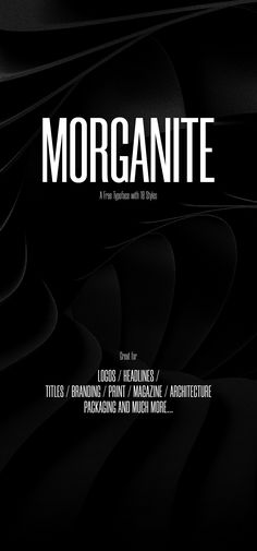 Morganite© is a free typeface with 18 styles from Thin to Black. The typeface is free to use for personal and commercial projects.Please spread the word around, if you like the Morganite© typeface. Best Web Design, Free Design, Old School Fonts, Condensed Font, Free Fonts For Designers, Commercial Fonts, Free Typeface, Best Free Fonts, Font Face