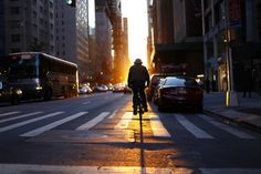 City Bike at Sunset