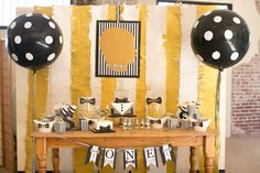 Mr. ONEderful Tuxedo Themed 1st Birthday Party via Kara's Party Ideas KarasPartyIdeas.com Party supplies, recipes, tutorials, printables, cake, invitation, desserts, backdrops, banners, and more! #tuxedoparty #tuxparty #littleman #littlemanparty #bowtieparty #karaspartyideas #mronederful #mrwonderful #1stbirthday #firstbirthday #bowtiebash #partystyling #partyplanning (65)