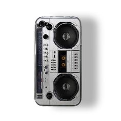 Realistic looking boombox iPhone 4 case!
