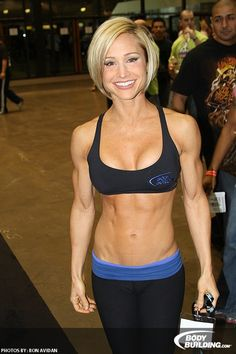 Fitness model Jamie Eason...she has such a beautiful heart and is one of my favorites role models!