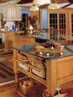 Spaces French Country Kitchen Decorating Ideas Design, Pictures, Remodel, Decor and Ideas - page 4