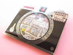 Kawaii Cute PHOTRIP Sticker Flakes Sack Q-LiA *Letter (71258)