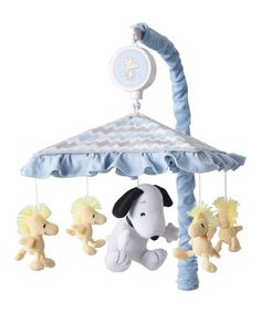 Love this My Little Snoopy Musical Mobile on #zulily! #zulilyfinds
