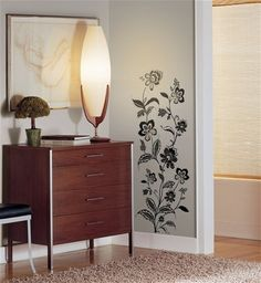 RoomMates RMK1167GM Jazzy Jacobean Peel  Stick Wall Decals * Learn more by visiting the image link.