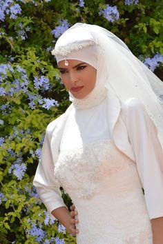 Hijab Simple, Niqab, Muslim, Sexy, Marie, Wedding Dresses, Fashion, Muslim Brides, Hijab Ideas
