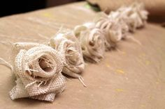 DIY How To Make a Burlap Flower