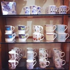 Mugs for sale in the shop! #nationaltrust #devon #saltram