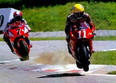 Kocinski on Cagiva