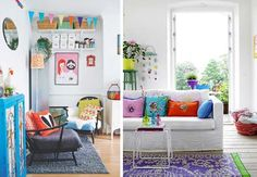 Departamentos con mucho color | SILENBLOGGER