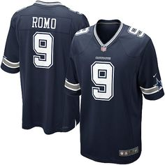 NFL Youth Game Nike NFL Dallas Cowboys  9 Tony Romo Team Color Jersey 59.99  Nfl a9066fd7d