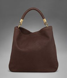 20a644b5d62 Large YSL Roady in Brown Polished Leather - Roady Sac Birkin Hermes, Sophie  Marceau,
