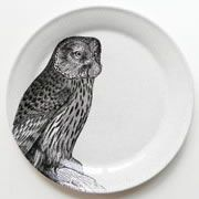 Platter with Owl Print by Orson & Blake from Wedding List Co - The Leading Bridal Registry Specialist