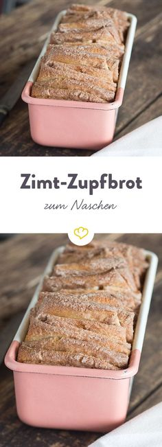 Zimt-Zupfbrot - willkommen im Gebäck-Himmel Tritt ein in den süßen Gebäck-H. Cinnamon plucked bread - welcome to the pastry heaven Step into the sweet pastry heaven: With this irresistible cinnamon Baking Recipes, Cake Recipes, Dessert Recipes, Pastries Recipes, Receitas Crockpot, Cake & Co, Sweet Pastries, How To Make Bread, Cake Cookies