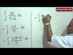 Integral indefinida que se resuelve por Sustitución: Julio Rios explica cómo resolver una integral indefinida usando el Método de Sustitución y una estrategia especial.