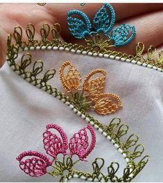 Needle Tatting, Needle Lace, Hand Embroidery Stitches, Crochet Stitches, Viking Tattoo Design, Crochet Borders, Sunflower Tattoo Design, Tatting Patterns, Lace Making