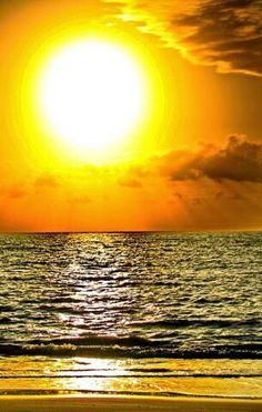 Praia do Jacaré-Por do Sol.