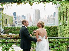 Liz and David's super 8 wedding film highlights: The Foundry - Long Island City, NY.  Made by Hello Super Studios (hellosuperstudios.com)