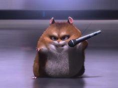 the hamster from bolt | Rhino, el hámster de Bolt, ahora es protagonista - vive.in