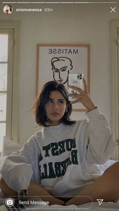 orion carloto fashion outfit home design interior art architecture white jumper Urban Outfitters Outfit, Fotografia Retro, Looks Style, My Style, Lily Chee, Summer Makeup Looks, Foto Casual, Mode Streetwear, Instagram Story Ideas