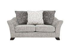 Annalise II 2 Seater Fabric Pillow Back Sofa
