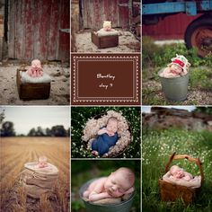 Outdoor newborn photography  Im so excited for my newborn shoots im doing this weekend!! Got to get some great inspiration