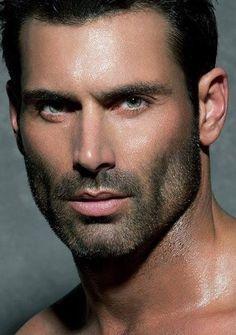 Beautiful Men Faces, Gorgeous Men, Hot Men, Scruffy Men, Smart Men, Handsome Faces, Hot Hunks, Male Face, Face Men