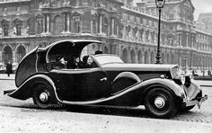 """What is Old is New Again – The Retractable Top (Shown: 1934 Peugeot 601 C """"Eclipse"""" by Carrosserie Pourtout)"""