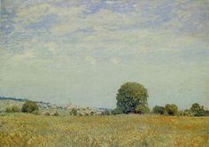 "Alfred SISLEY ""Paysage à Sain-Cloud"""