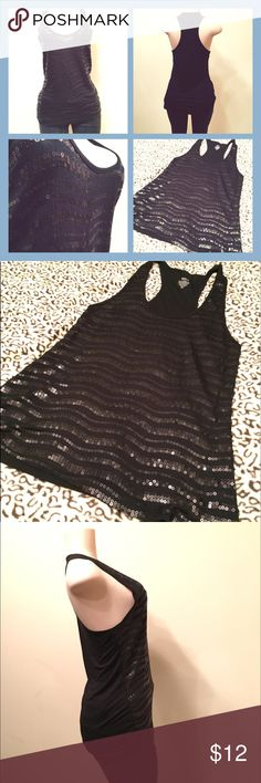 Black Tank Top Randomly found it in my closet. Forgot about it :) I don't think I have ever worn it. Mossimo Supply Co Tops Tank Tops