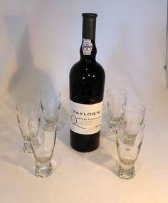 Elegance by Ravenhead 6 Sherry/Port Glasses by RetroriginalUK  Barware  Elegance  Ravenhead  Sherry  Port  Liqueur  Boxed drinks  glasses  vintage  retro  gift  barware