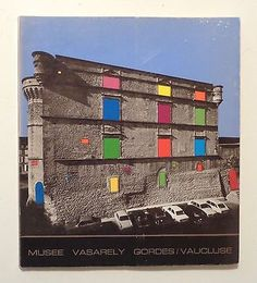1973 VASARELY DIDACTIC MUSEUM Gordes Chateau France OP ART Modern Artist in Books, Antiquarian & Collectible   eBay