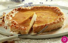 Greek Sweets, Greek Desserts, Greek Recipes, Yummy Treats, Delicious Desserts, Sweet Treats, Flan, Greek Cookbook, Sweet Pie