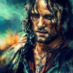 Awesome Lord of the Rings digi painting.