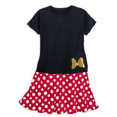 Minnie Mouse Combo Dress for Women Disney World Outfits, Disney Dresses, Red Polka Dot Skirt, Polka Dots, Short Sleeve Dresses, Dresses With Sleeves, Short Sleeves, Combo Dress, Dapper Day