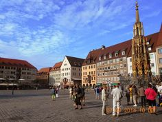Conservare Artefacte: Nuremberg.Beautiful Fountain