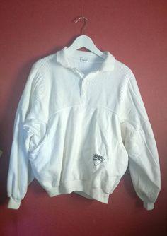 Vintage 80s90s Nike Sweatshirt White VINTAGE 1980s1990s