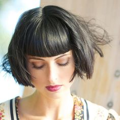 awesome 55 Exclusive Ideas for Bob With Bangs - Playful and Intriguing Check more at http://newaylook.com/best-bob-with-bangs-ideas/