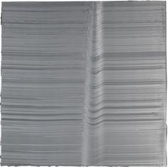 Jason Martin (British, b. 1971), Lacuna, 1999. Acrylic on aluminium, 153 x 154.5 cm.