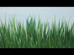 Acrylic Painting How to Paint Tall Grass Quick and Easy Painting Tutorial