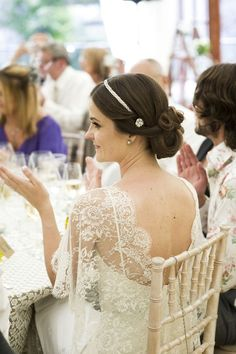 A 'Vintage Look' Elie Saab Wedding Dress for a Channel Islands Bride...