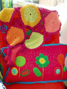 crochet by LJK art, via Flickr