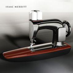 ISAAC MERRITT  Sewing Machine designed by hau