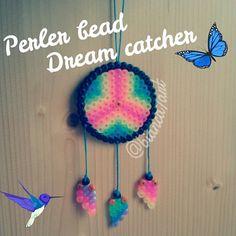 Perler bead dream catcher by bianca7art